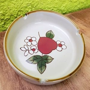 Vintage | Cherry Blossom Retro Ashtray Dish